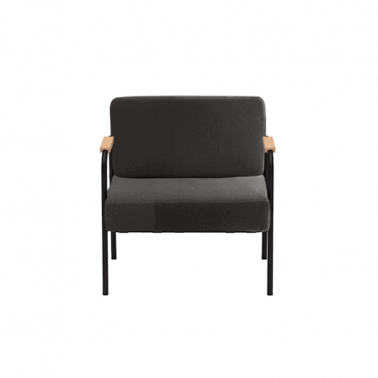 Fauteuil uni feutrine Made in France