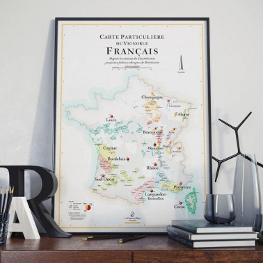 carte des vins production francaise