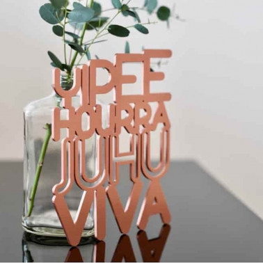 deco lettrage cuivre hourra swab design