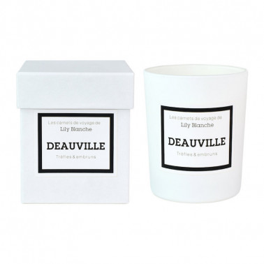 bougie deauville lily blanche made in france