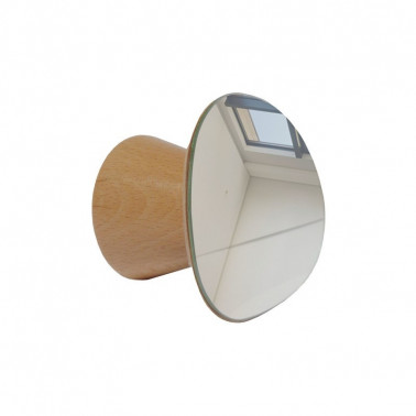 patère miroir bois made in france