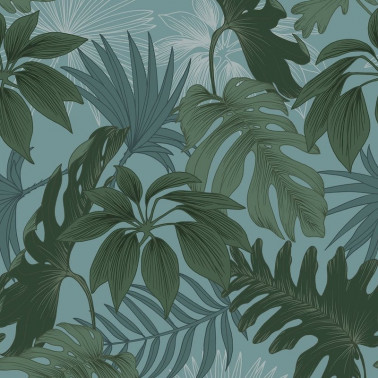 Papier peint tropical Made in France