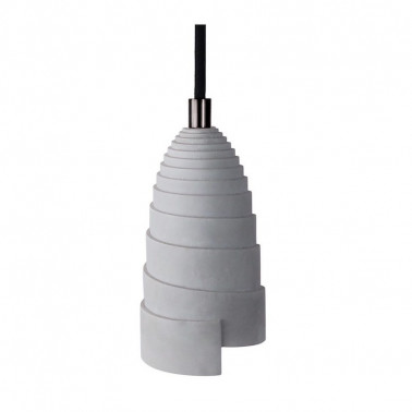 Lampe suspension béton made in france