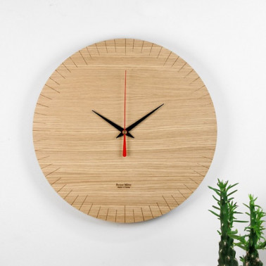 horloge en bois made in france