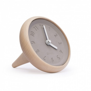 horloge table toupie made in France