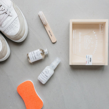 Kit laver sneakers made in France cadeau