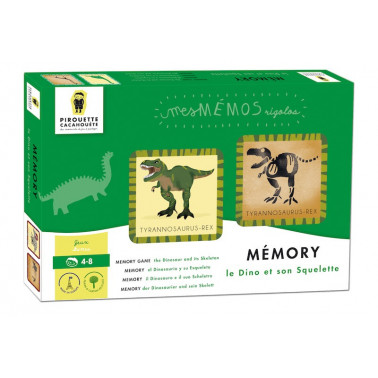 jeu memory dinosaures made in France