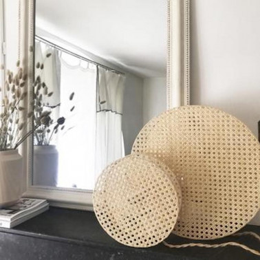 Luminaire lin made in france