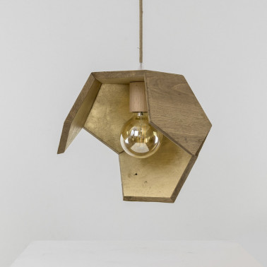 suspension bois upcyclé made in france