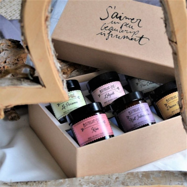 Coffret bougies personnalisables Made in France