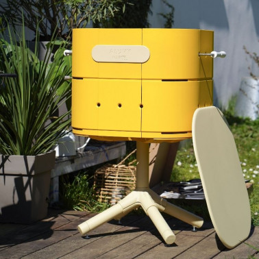 Barbecue design au charbon Made in France