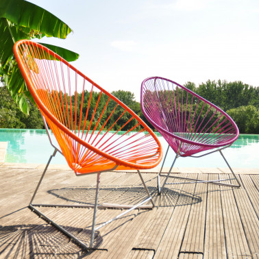 Fauteuil acapulco Made in France