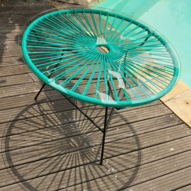 Table ronde Zipolite Made in France