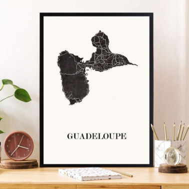 Affiche Guadeloupe Made in France