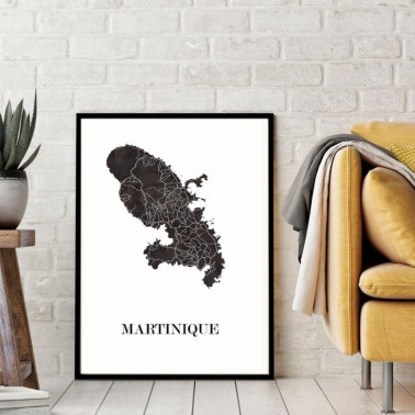 Affiche Martinique Made in France