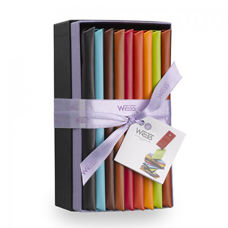 assortiment chocolat weiss made in france