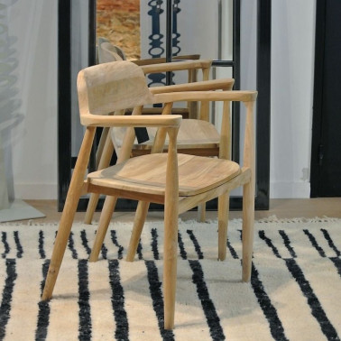 Chaise en teck made in france